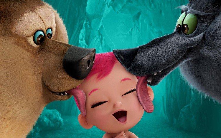 bear, child, animal, language, wolf, baby, cinema, storks, film