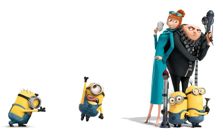 weapons, cartoon, minions, despicable me 2, agents