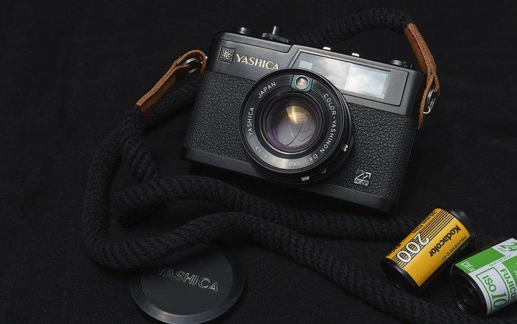 the camera, lens, film