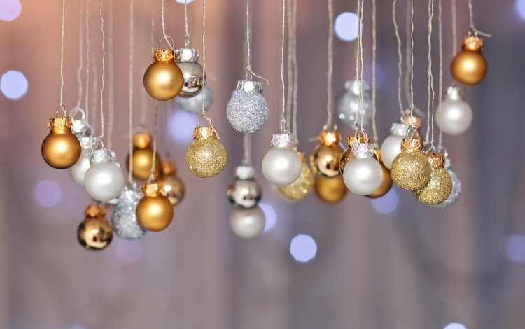 новый год, шары, игрушки, праздник, боке, new year, balls, toys, holiday, bokeh