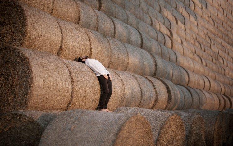 hay, infinity, male, rolls