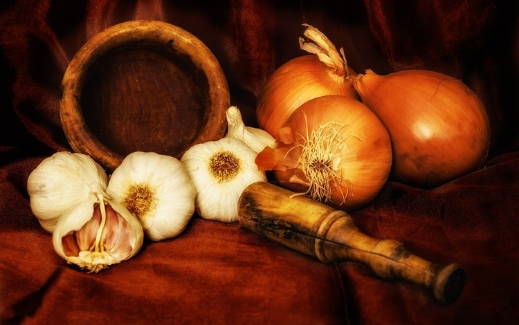 стиль, лук, овощи, натюрморт, чеснок, специи, style, bow, vegetables, still life, garlic, spices
