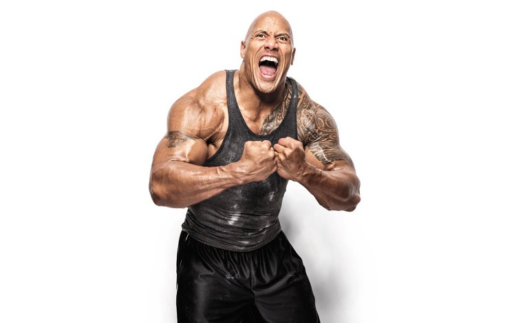актёр, тату, дуейн джонсон, actor, tattoo, dwayne johnson