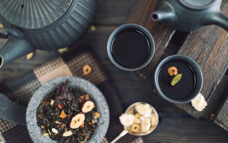 напиток, чай, чаепитие, чайник, чашки, заварник, drink, tea, the tea party, kettle, cup, teapot