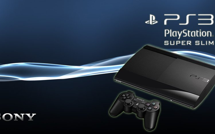 super, sony, playstation 3, slim
