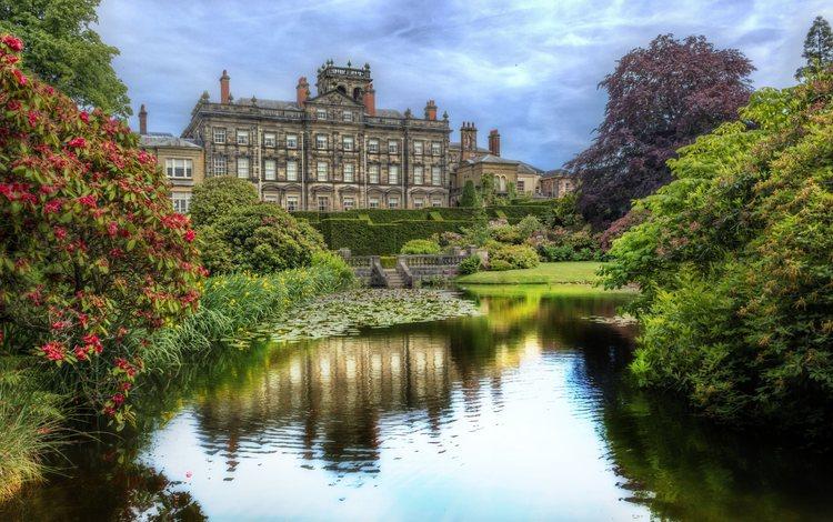 парк, замок, великобритания, сад, англия, сток-он-трент, park, castle, uk, garden, england, stoke-on-trent