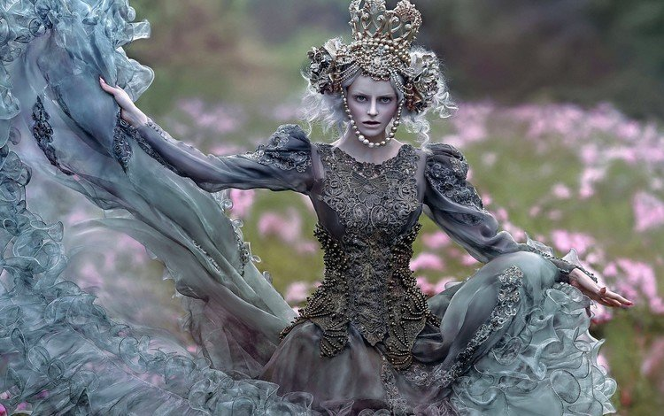 art, decoration, style, girl, dress, image, creative, outfit, maja, agnieszka lorek