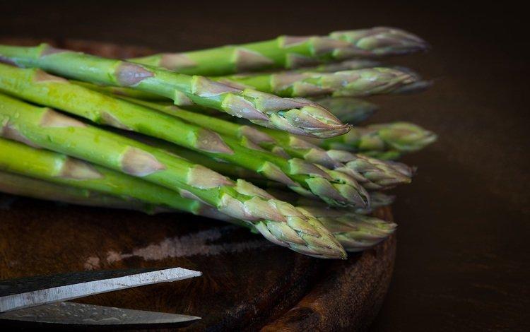 зеленая, овощи, спаржа, green, vegetables, asparagus