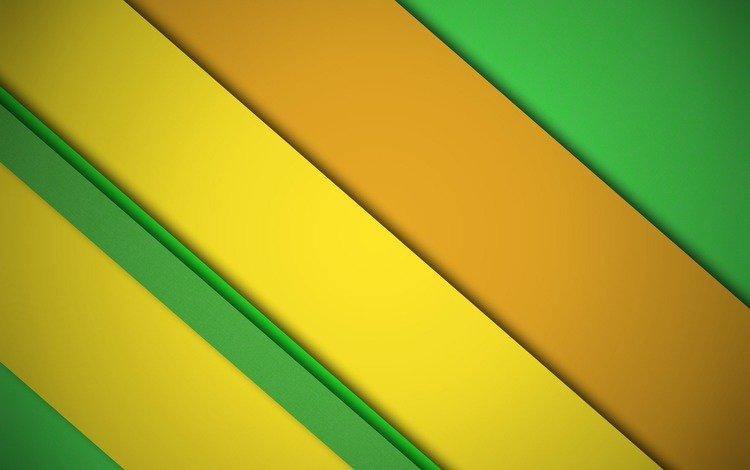 полосы, дезайн, желтый, салатовый, абстракция, линии, фон, цвет, оранжевый, материал, strip, design, yellow, green, abstraction, line, background, color, orange, material