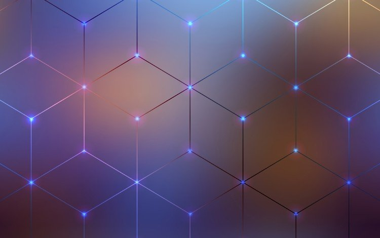abstraction, line, color, background, pattern, graphics, range, geometry, 3d