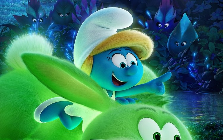forest, the smurfs, animation, smurfs-the lost village, smurfette, the smurfs:the lost village, the smurfs: the lost village