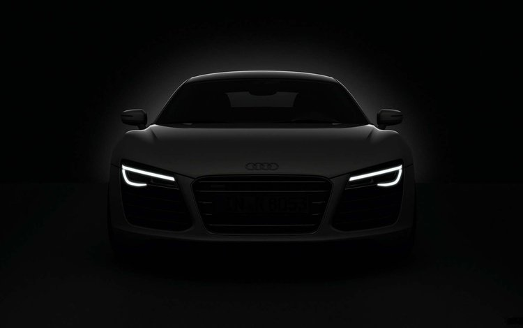 lights, audi, cars, audi r8