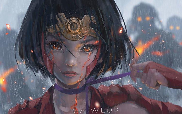 art, girl, fantasy, wlop