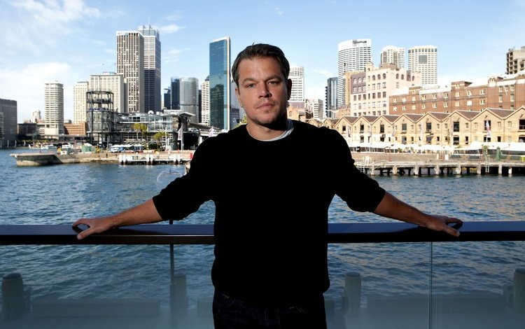 river, the city, actor, home, sydney, photoshoot, the parapet, matt damon, chris pavlich