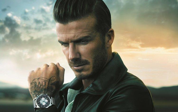 рука, дэвид бэкхем, взгляд, часы, тату, лицо, мужчина, футболист, борода, hand, david beckham, look, watch, tattoo, face, male, player, beard