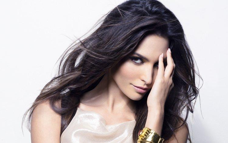 girl, portrait, brunette, look, model, hair, face, actress, american, génesis rodríguez