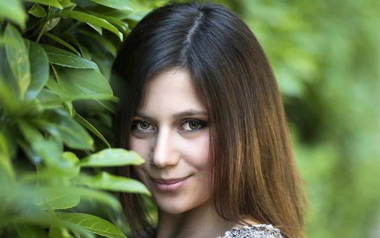 глаза, девушка, улыбка, взгляд, модель, волосы, chiara, eyes, girl, smile, look, model, hair
