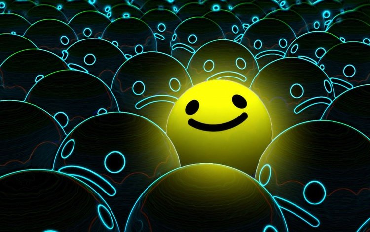 smile, graphics, smiley, 3d