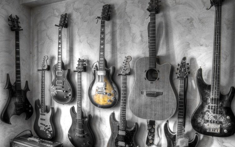 музыка, гитары, music, guitar