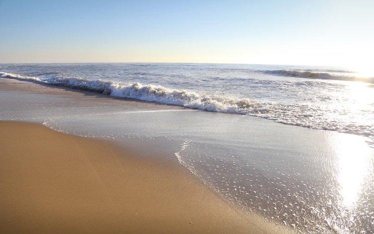 пляж, beach