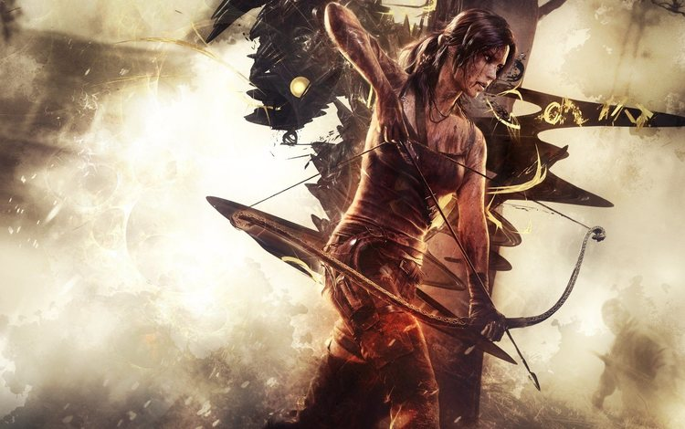 arrow, lara croft, tomb raider, video game