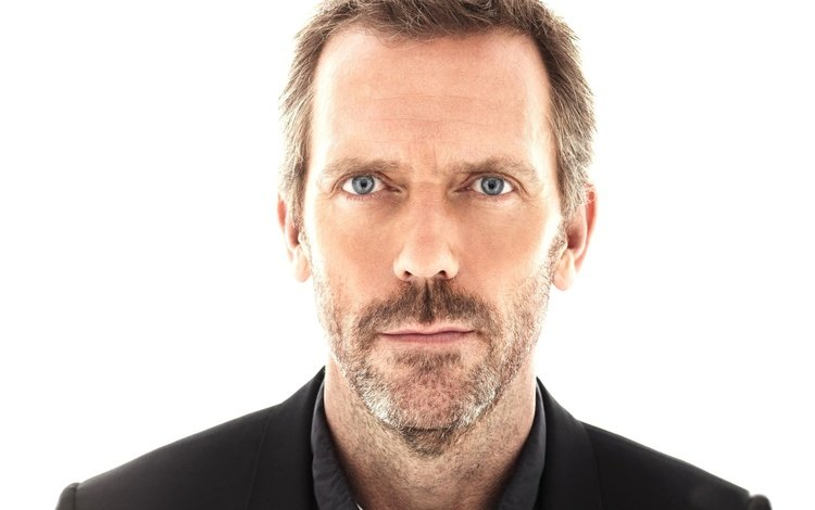 eyes, look, face, hugh laurie, bristles
