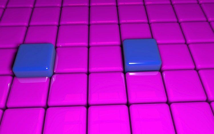 background, color, graphics, cubes, squares, cuba, surface, 3d