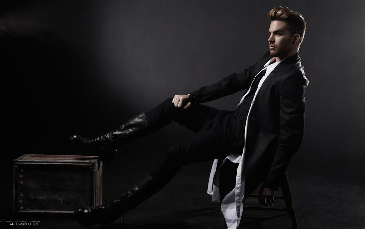 male, singer, musician, adam lambert