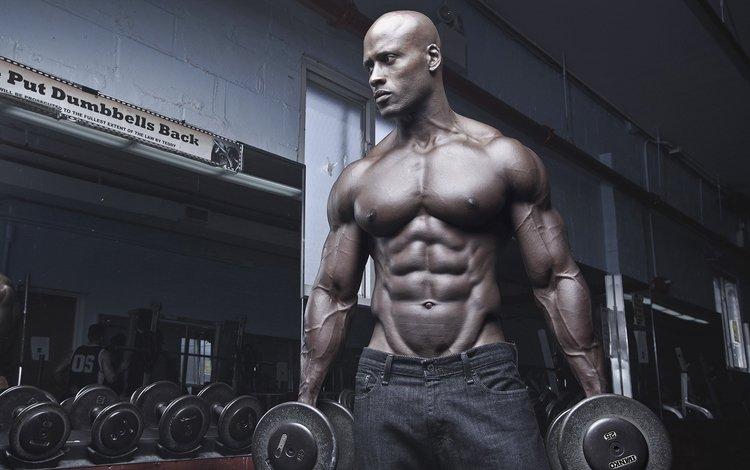 спорт, мужчина, мускулы, культурист, тренировка, тренажерный зал, бицепсы, мускулатура, sport, male, muscles, bodybuilder, training, gym, biceps