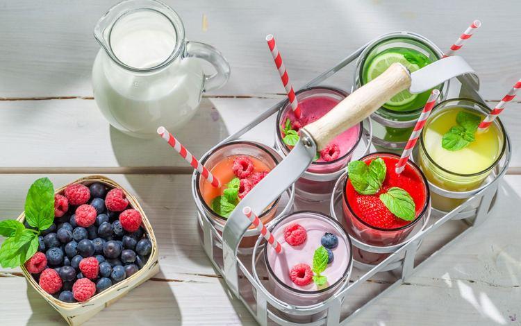 фрукты, ягоды, коктейль, десерт, йогурт, смузи, fruit, berries, cocktail, dessert, yogurt, smoothies