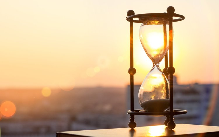 солнце, часы, песочные часы, the sun, watch, hourglass