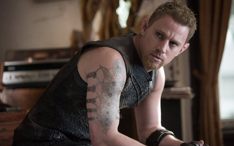 "actor, the film, tattoo, channing tatum, ""jupiter ascending"""