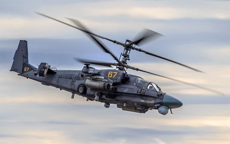 aviation, helicopter, ka-52, kamov ka-52, aircrafts