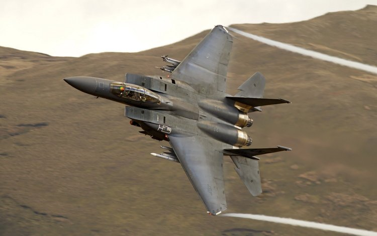 f15, weapons, the plane