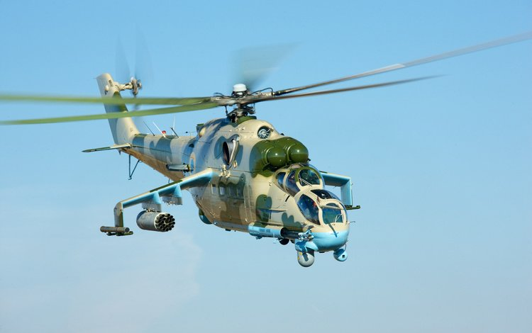 aviation, helicopter, mi-24