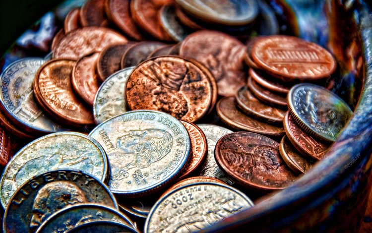 metal, money, coins