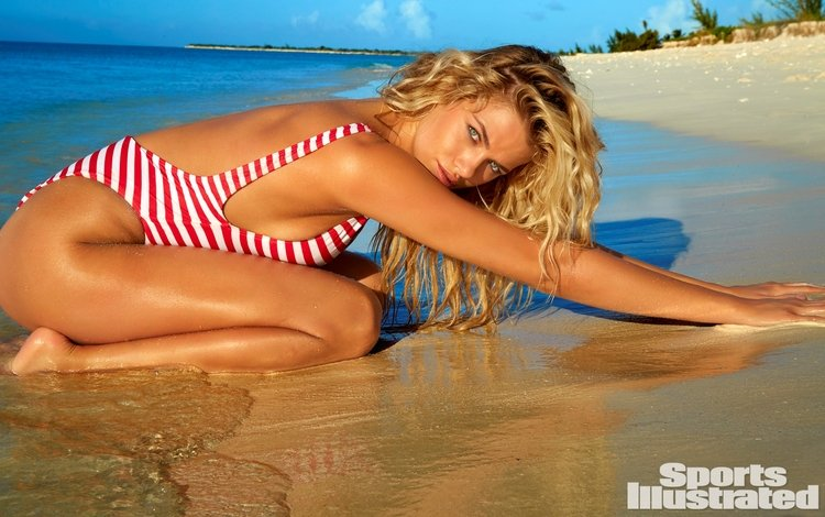 поза, блондинка, пляж, купальник, хейли клаусон, pose, blonde, beach, swimsuit, haley clawson