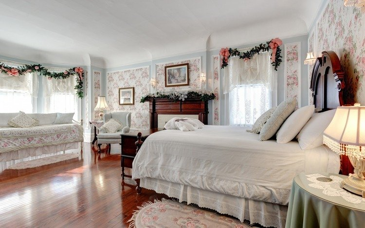 style, interior, bed, bedroom
