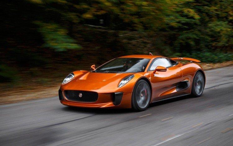дорога, скорость, авто, автомобиль, ягуа́р, road, speed, auto, car, jaguar