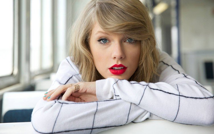 girl, blonde, look, hair, face, actress, singer, makeup, taylor swift