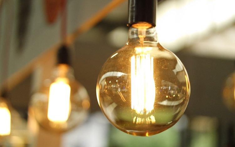 light, lamp, light bulb