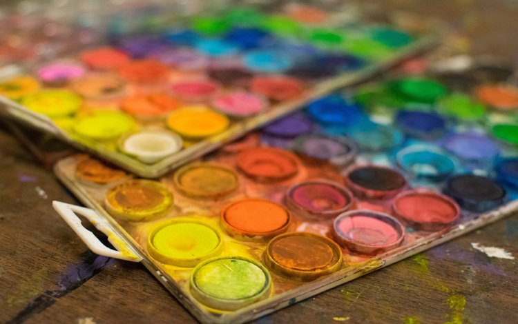 цвета, краски, рисование, акварель, color, paint, drawing, watercolor