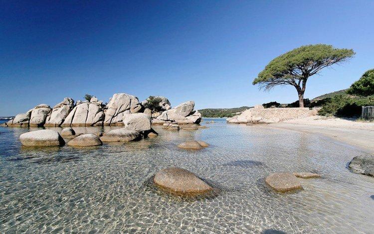 природа, камни, пейзаж, море, пляж, франция, корсика, пляж паломбаджия, nature, stones, landscape, sea, beach, france, corsica, the beach palombaggia