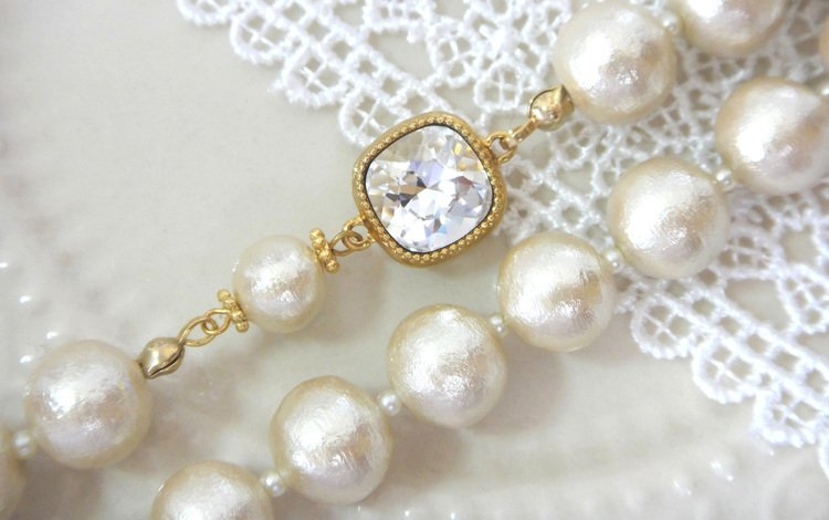 decoration, necklace, pearl