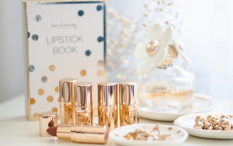 decoration, lipstick, cosmetics