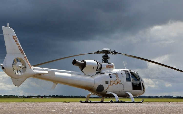 aviation, helicopter, gazelle