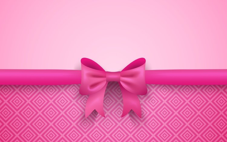 background, color, pink, tape, gift, bow