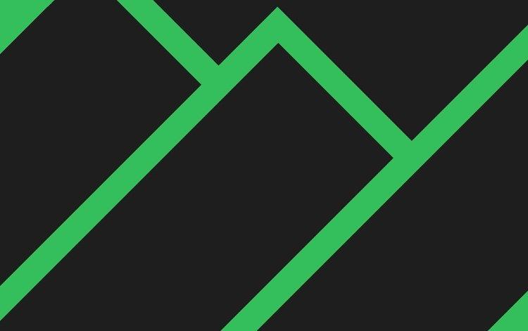 strip, line, green, black, minimalism, figure, rectangles