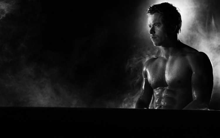 black and white, actor, the series, muscle, todd lisans, todd lasance, spartacus