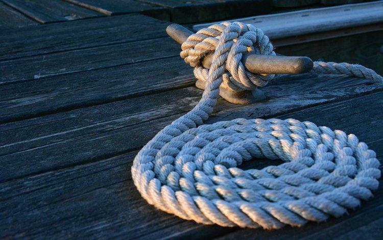node, pier, rope, marina, deck